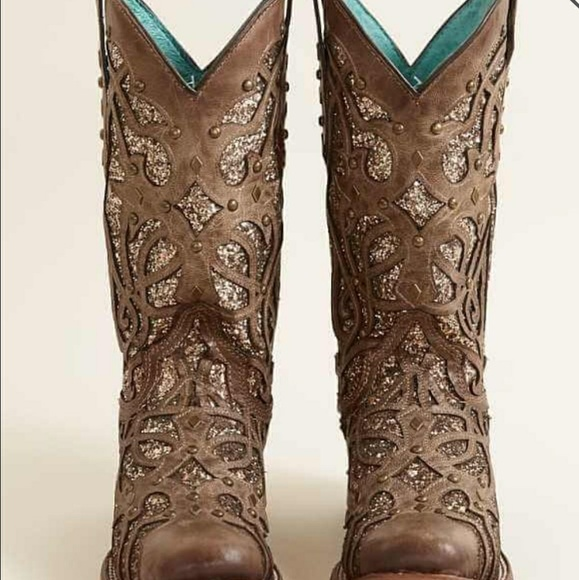 cowgirl glitter boots